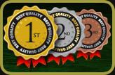 2012 Bondage Store Medals