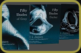 The set of three books by E.L.James